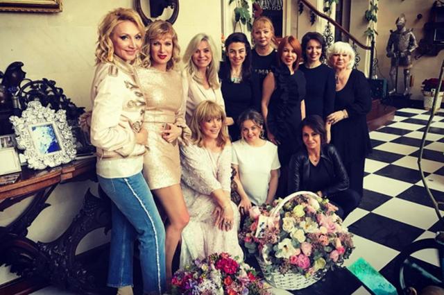 Алла Пугачёва отпраздновала день рождения в кругу близких