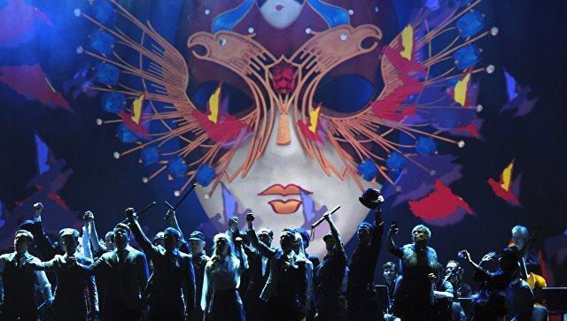 Козловский, Миронов, Табаков, Боярская на церемонии вручения премии «Золотая маска»