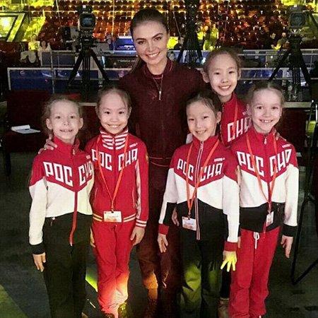 Алина Кабаева на репетиции открытия фестиваля художественной гимнастики - Фото №4