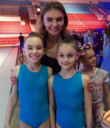 Алина Кабаева на репетиции открытия фестиваля художественной гимнастики - Фото №5