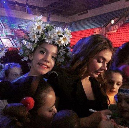 Алина Кабаева на репетиции открытия фестиваля художественной гимнастики - Фото №2