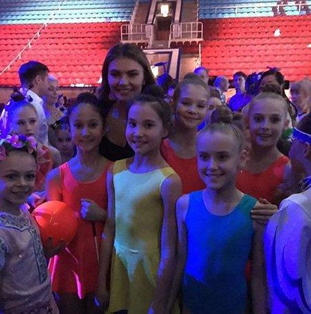 Алина Кабаева на репетиции открытия фестиваля художественной гимнастики - Фото №8