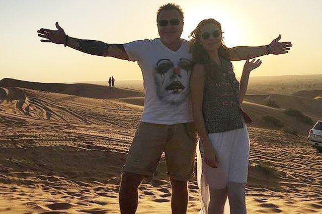Владимир Пресняков и Наталья Подольская вместе с сыном отдыхают в Израиле