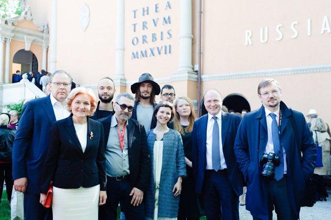Российский павильон стал одним из фаворитов гостей Венецианской биеннале - Фото №10