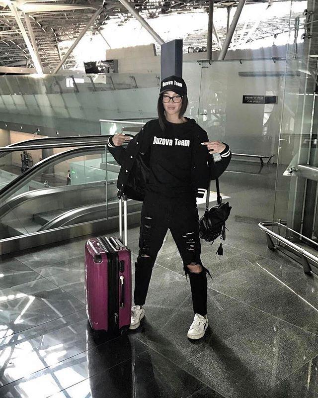 Ольга Бузова вылетает на гастроли в Ингушетию