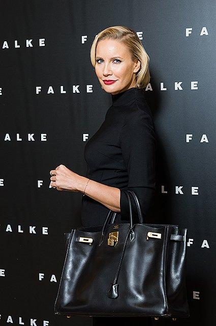 Звёздные модницы на открытии бутика FALKE