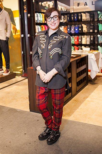Звёздные модницы на открытии бутика FALKE - Фото №10