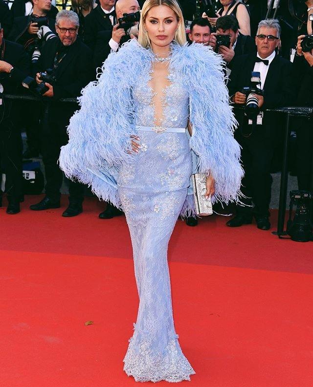 Виктория Боня попала в список самых нелепо одетых звезд в Каннах