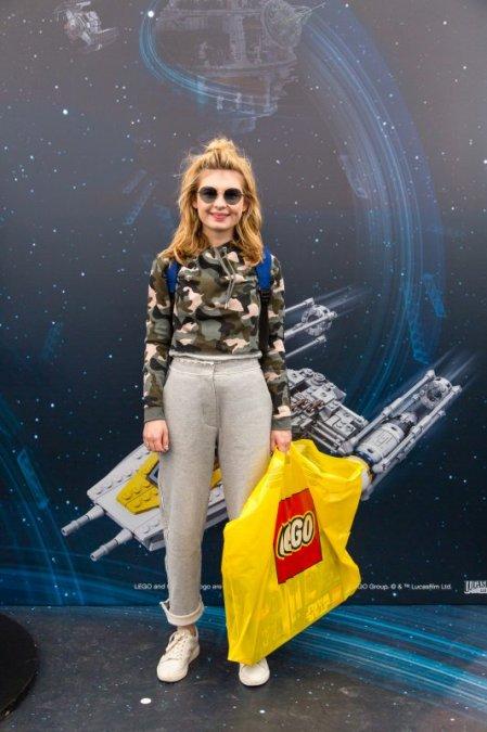 Звёзды и их дети на празднике LEGO Star Wars - Фото №3