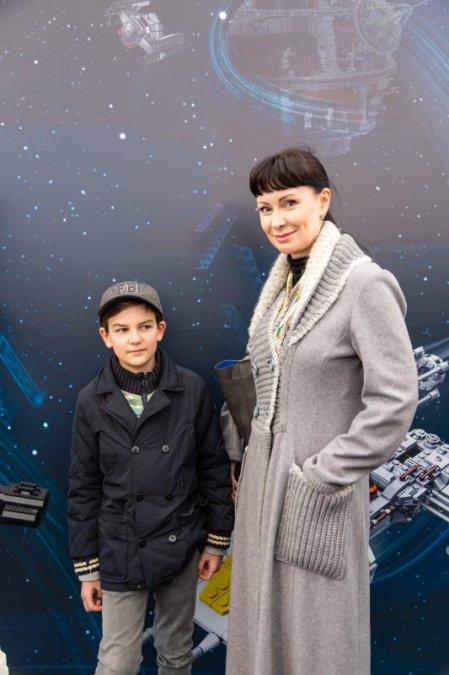 Звёзды и их дети на празднике LEGO Star Wars - Фото №6