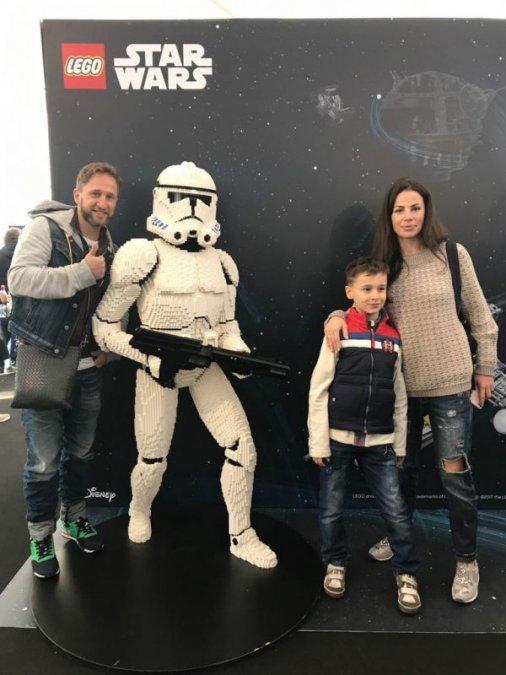 Звёзды и их дети на празднике LEGO Star Wars - Фото №5