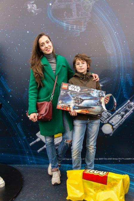 Звёзды и их дети на празднике LEGO Star Wars - Фото №1