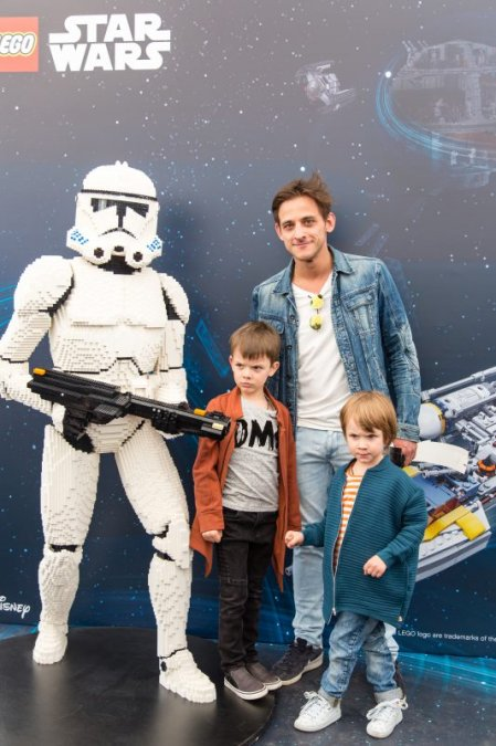 Звёзды и их дети на празднике LEGO Star Wars - Фото №4