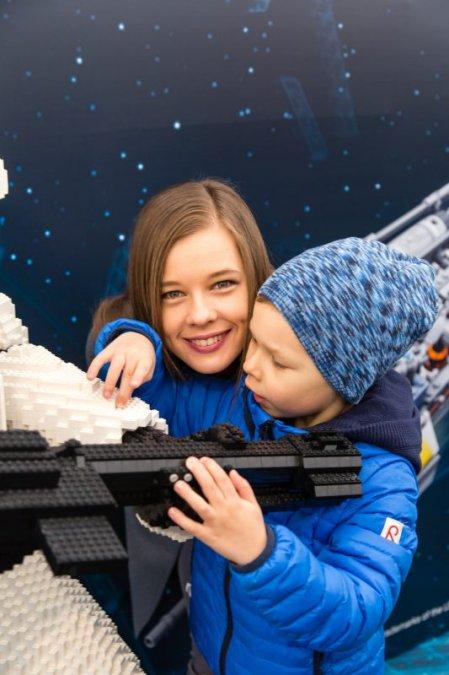 Звёзды и их дети на празднике LEGO Star Wars - Фото №7
