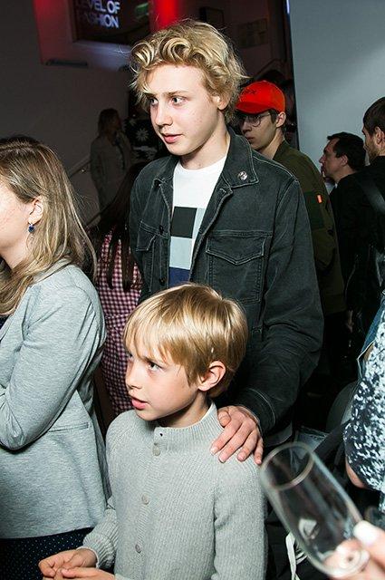 Наталья Водянова, Дима Билан, Яна Рудковская на открытии H&M - Фото №3