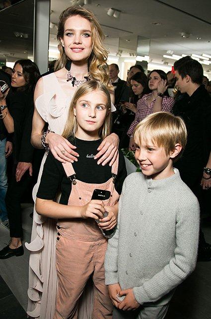 Наталья Водянова, Дима Билан, Яна Рудковская на открытии H&M - Фото №2