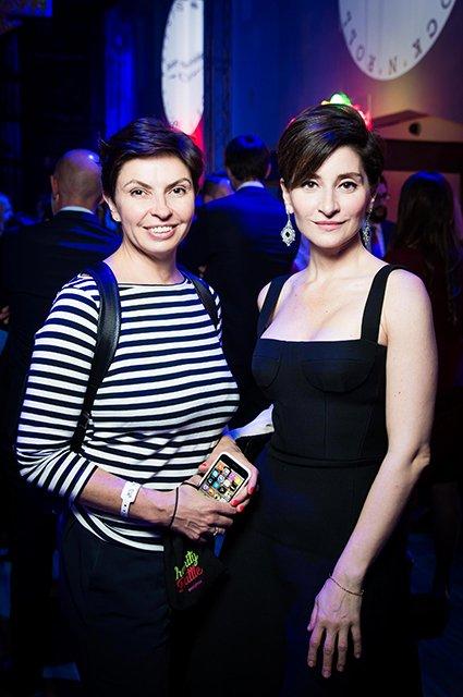 Шнурова и Киценко продавали мороженое на благотворительном вечере - Фото №3