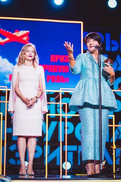 Знаменитости на церемонии закрытия «Кинотавра» - Фото №14