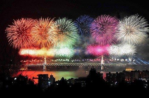 Столица снова примет фестиваль фейерверков