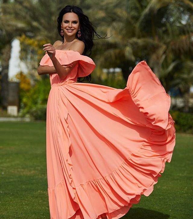 Платье Виктории Романец стоит 700 тысяч рублей