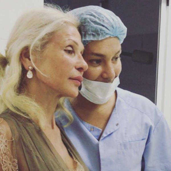 Мама Рустама Солнцева заметно похорошела после уколов красоты