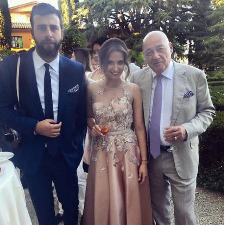 Юдашкины, Ургант, Познер на свадьбе итальянской принцессы Натальи Строцци - Фото №5