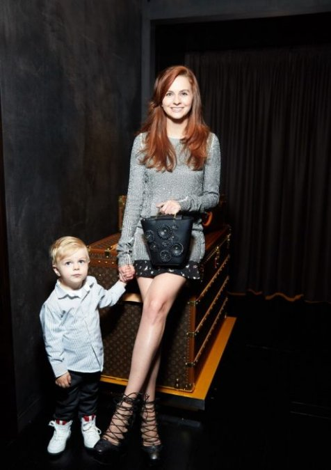 Мот с супругой побывали на презентации часов от Louis Vuitton - Фото №6