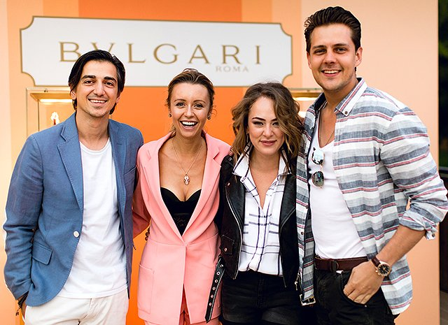 Знаменитости на вечеринке ювелирного бренда Bulgari - Фото №10