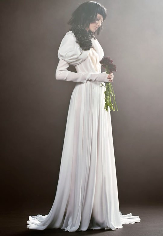 Вера Вонг представила коллекцию свадебных платьев 2018