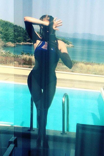 Светлана Ходченкова проводит отпуск в Греции - Фото №1
