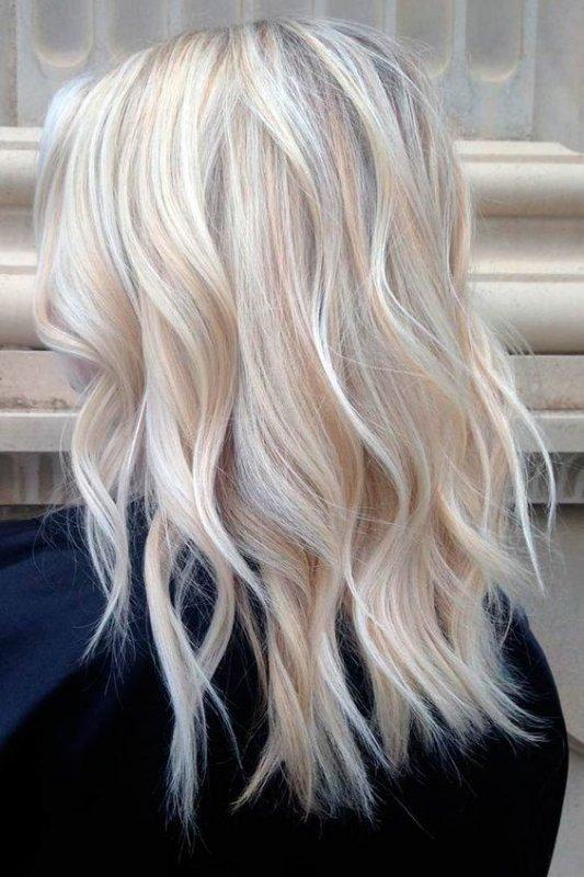 Какой блонд в моде нынешним летом