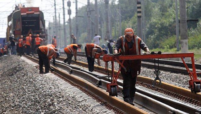 В России отмечают День железнодорожника