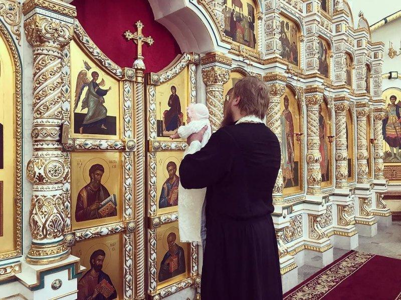 Беатрису Блюменкранц окрестили в церкви