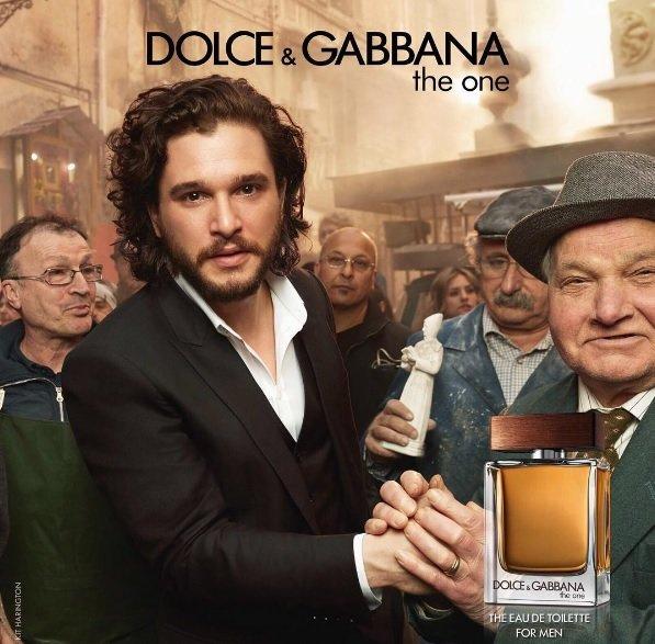 Dolce & Gabbana взял лицами новой коллекции парфюма героев из «Игры престолов»