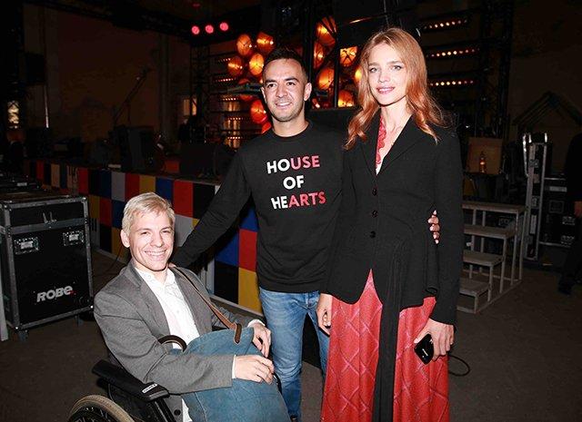 Наталья Водянова и Владимир Мединский на благотворительном фестивале House of Hearts
