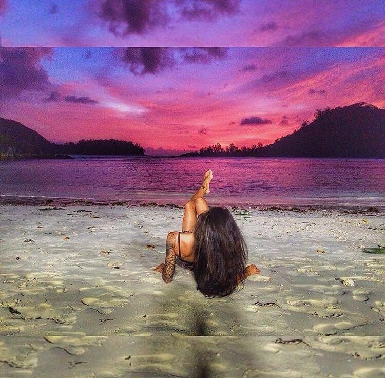 Марина Мексика проводит время на Лазурном берегу