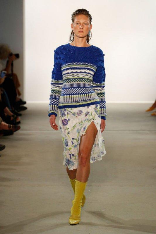 Важный элемент осеннего гардероба - свитер в скандинавском стиле