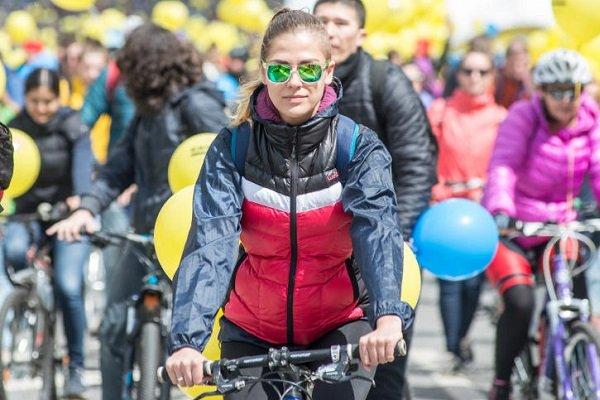 В Москве стартовал Осенний велопарад