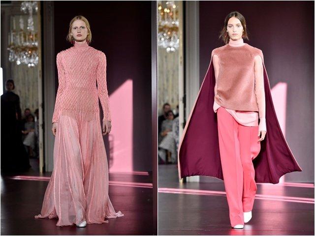 С чем носить осенью модный розовый оттенок
