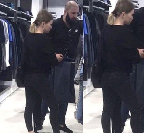 Евгению Феофилактову застали в магазине одежды с новым мужчиной