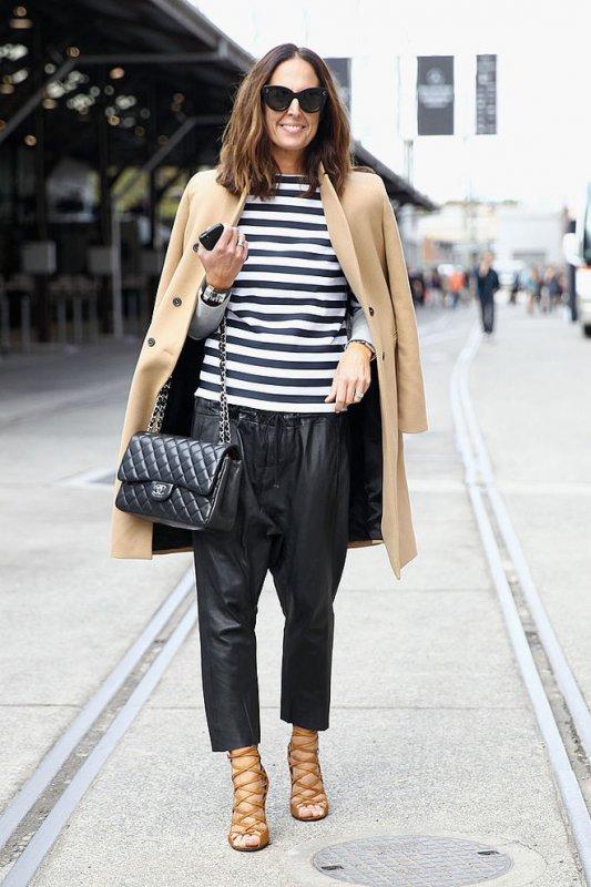 С чем носить черные брюки этой осенью - самые стильные образы