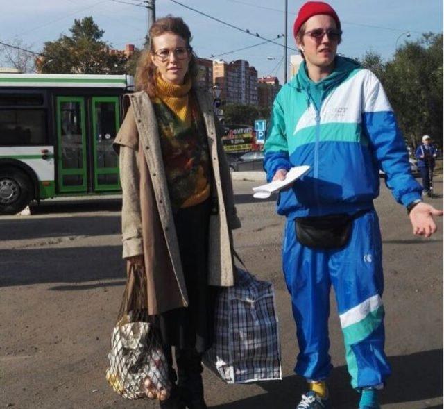 Ксения Собчак вернулась в «лихие девяностые»