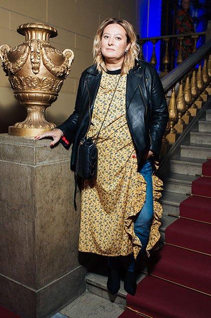 Знаменитые модники на показе Maison Bohemique - Фото №2