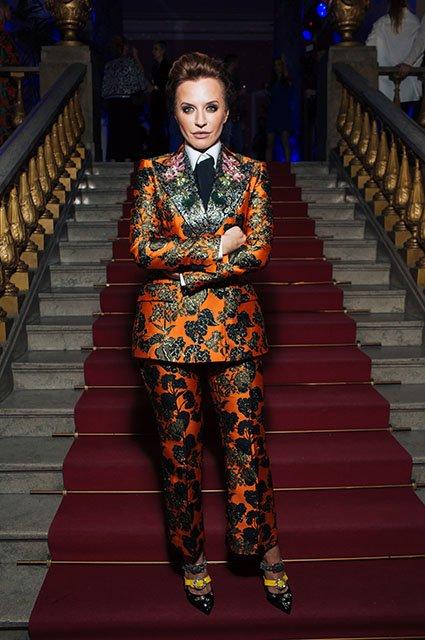 Знаменитые модники на показе Maison Bohemique - Фото №1