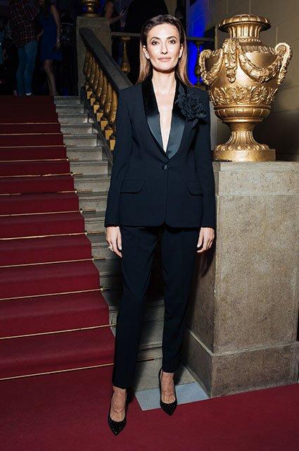 Знаменитые модники на показе Maison Bohemique - Фото №6