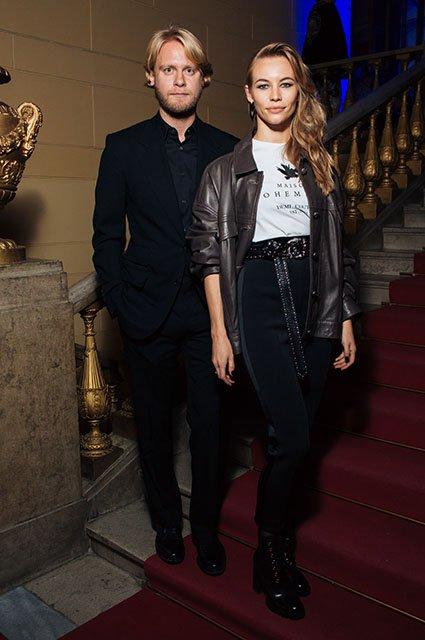 Знаменитые модники на показе Maison Bohemique - Фото №3