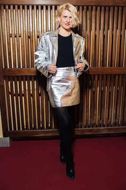 Знаменитые модники на показе Maison Bohemique - Фото №8
