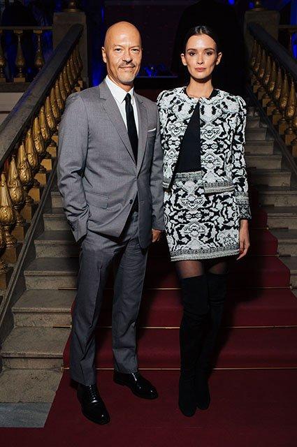 Знаменитые модники на показе Maison Bohemique - Фото №11
