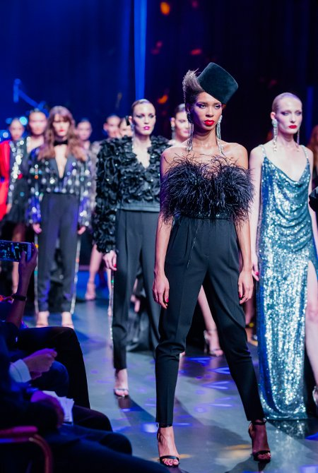 Знаменитые модники на показе Maison Bohemique - Фото №12