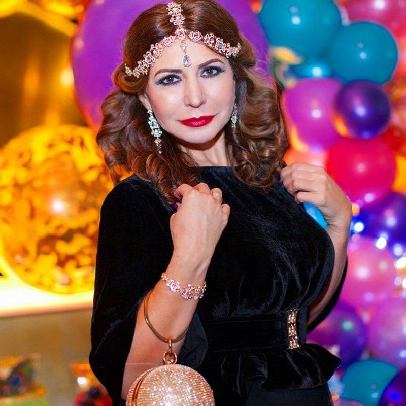 В честь дня рождения Ирина Агибалова превратилась в восточную красавицу